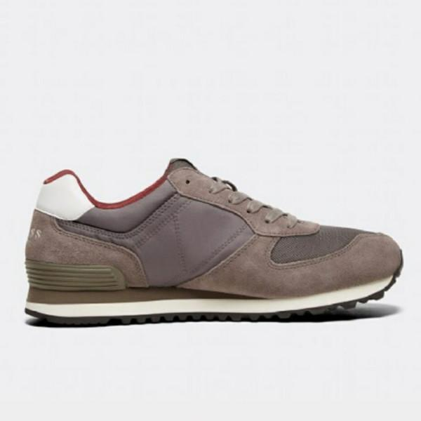 Guess City Run Trainer - Brown